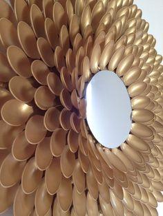 Sunburst Mirror DIY - LilahV Blog