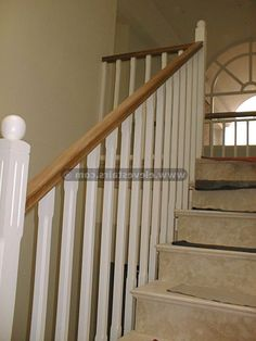 17 Easy Design Touches For Your Stair Handrail. Posted On Architecture.  #17 #Easy #Design #Touches #For #Your #Stair #Handrail
