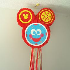 Toodles Gets a Face Pull String Pinata by MaddLilly on Etsy Disney Junior Birthday, Mickey Mouse Clubhouse Birthday Party, Mickey Party, Mickey Mouse Birthday, Minnie Mouse Party, Mouse Parties, Drake's Birthday, Boy Birthday Parties, Birthday Ideas