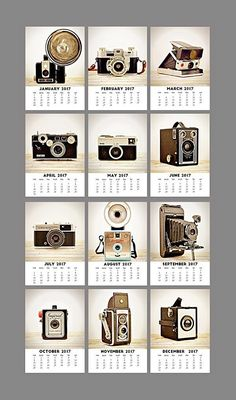 2017 is coming – and so is the need for a new calendar. Gone is this year's calendar, covered with scribbles; gone are the big dates, counted down by preced