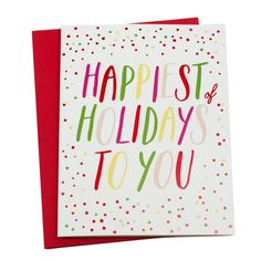Bring some cheer with this happy card! www.mooreaseal.com