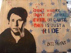 "Bill Hicks ""Its just a ride"" by ~Goodbyeskye on deviantART"