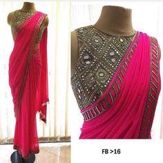 Designer saree To purchase mail us at houseof2@live.com or Whatsapp us on +919833411702 #Houseof2 #bridesmaids #bridaljewellery #trending…
