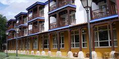 Balconadas del Parador de Manzanares