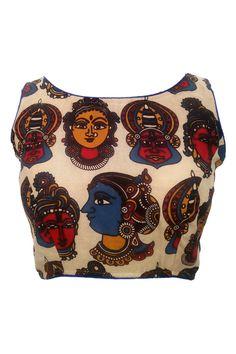 Kalamkari Silk Cotton Blouse