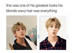 Anything on Jin is he's greatest look tbh