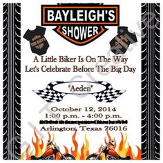 baby showers harley davidson motorcycles baby shower invitations baby