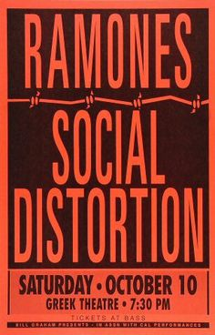 GAAHHH The Ramones and Social Distortion.