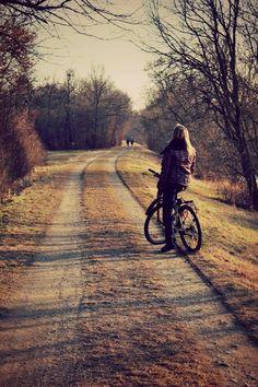I used to go everywhere on my bike when I was a teenager.