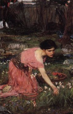 Flora(c.1914) John William Waterhouse