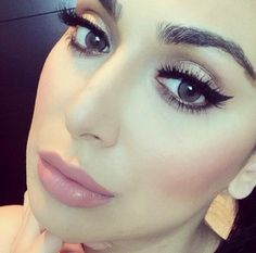 TUTORIAL | MAKEUP By Huda Heidi Kattan Hi My Lovees! It seems that getting the perfect catline is such a hard thing to do, the other day I taught one of my clients how to get the perfect winged lin...