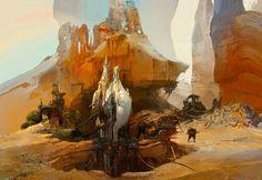 Concept Arts do Game Warframe, por Branislav Perkovic | THECAB - The Concept Art Blog