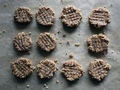 Raw, Vegan, Peanut Butter Cookies, a recipe on Food52