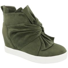 f26625c0a754 Top Moda Shadow Wedge Sneaker ( 27) ❤ liked on Polyvore featuring shoes