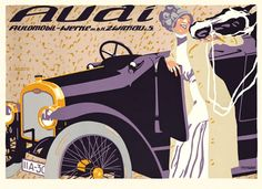 Audi Vintage Advertising Poster Print by FoxgloveMedia on Etsy