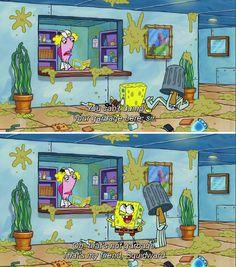 "27 Iconic ""Spongebob Squarepants"" Lines That Are Never Not Funny - Funny Troll & Memes 2019 Spongebob Pics, Funny Spongebob Memes, Cartoon Memes, Stupid Memes, Funny Relatable Memes, Funny Jokes, Cartoons, Hilarious, Squidward Meme"