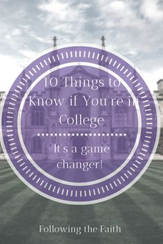 College is a huge transition and this list can help you and your friends with setting expectations and getting it right! College Majors, Scholarships For College, Christian College, Christian Living, Love Your Family, Love Your Life, Physics Test, Figured You Out, Feeling Like A Failure