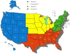 The United States Is Divided Into Five Regions These Regions Are - Us map divided into regions