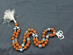 Rudraksha Mercury Crystal Prayer Meditation Japamala Yoga Mala ~ 54+1 Bead and Om Pendant by Mogul Interior, http://www.amazon.com/gp/product/B008IY28A0/ref=cm_sw_r_pi_alp_NiWEqb0MMVYRR