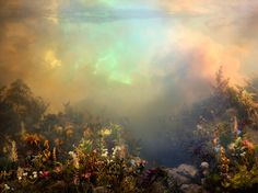 Joanna Newsom's Divers (out October 23) with cover art by Kim Keever