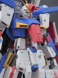 MG 1/100 MSZ-010S Enhanced ZZ Gundam - Customized Build