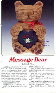 FREE Amigurumi Teddy Bear Crochet Pattern and Tutorial. FREE PATTERN 5/14.