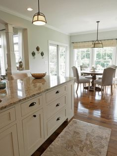 Conservative Gray on a sunny summer day with green undertones showing. Conservative Gray on a sunny summer day with green undertones showing. Ivory Kitchen Cabinets, Built In Cabinets, Kitchen Redo, New Kitchen, Kitchen Dining, Kitchen Ideas, Kitchen Furniture, Kitchen Layout, Kitchen Designs