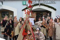 Faschingsumzug mit Team Kitzbühel Tourismus - live dabei! www.kitzbuehel.com
