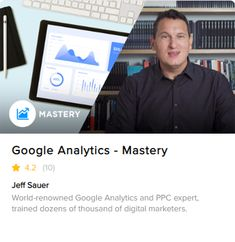 Learn the techniques of expert analysts in our Google Analytics Mastery course. In this course, you'll learn the Google Analytics techniques of high-ticket consultants and prepare for the Google Analytics certification exam. You'll be able to utilize your certified skills to bring even more value to your existing customers. Google Analytics Certification, Existing Customer, What You Can Do, Training Programs, Digital Marketing, Knowledge, Teaching, Business, Ticket