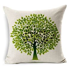 It is made from grand A natural cotton blended linen fabric. Burlap feeling enviroment friendly.The front is vivid reactive printed design and the ...