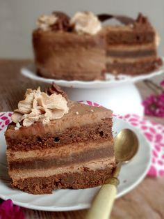 Gâteau au 2 chocolats à la maïzena (sans gluten)