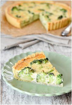 Kleines Kulinarium: Brokkoli Quiche mit Gruyère