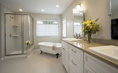 traditional master bathroom - Google Search