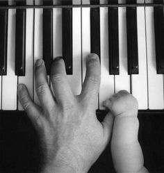 Capture those special moments | #piano #music #photography #image #father #child