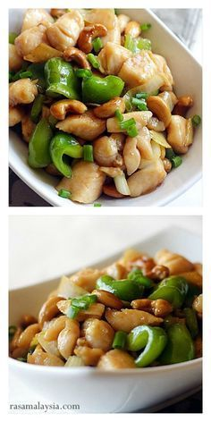 Chinese Cashew Chicken with only 3 main ingredients & dinner is ready in 30 mins. This easy recipe teaches you how to make brown sauce and tender chicken, like Chinese restaurants! #CauliflowerFriedRicewilltrickyourtastebudsinthebestwaypossible.