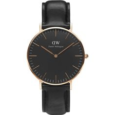 DANIEL WELLINGTON CLASSIC BLACK SHEFFIELD 36MM WATCH
