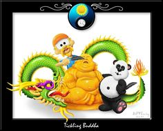 Tickling Buddah