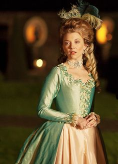 Natalie Dormer in 'The Scandalous Lady W' (2015). Love this dress
