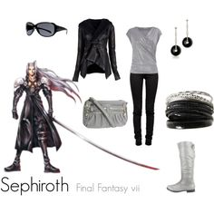 Sephiroth, created by tuffchica  Final Fantasy VII