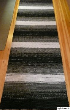 räsymatto,räsymatot Rug Making, Home Furnishings, Crochet Projects, Free Pattern, Diy And Crafts, Weaving, Carpet, Textiles, Make It Yourself