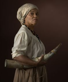 "E. Katie Holm, ""Nanny of the Maroons: Jamaica, c. 1680 — c. 1750,"" part of the series Women Warriors, 2011 Nanny of the Maroons was a Jamaican spiritual leader who fought against British slave trading during the eighteenth century. An expert strategist, Nanny implemented the use of camouflage and guerilla warfare to protect her people…"