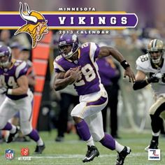 Minnesota Vikings 2013 Wall Calendar: Specially designed for the die-hard Minnesota Vikings fan, Turner Licensing presents the ultimate 2013 NFL wall calen Minnesota Vikings Football, Best Football Team, National Football League, Football Cards, Nfl Football, Sons Of Norway, La Weight Loss, Viking Baby, Perfect Timing