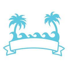 Silhouette Design Store: beach banner