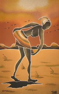 African oil paintings african negro oil painting desipainters cuadros de arena de senegal african paintingsafrica artsand sciox Image collections