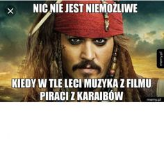Jack Sparrow Meme, Polish Memes, Everything And Nothing, Captain Jack, Young Justice, Pirates Of The Caribbean, Life Humor, Wtf Funny, Johnny Depp