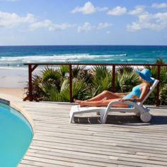 Comfy king beds, a private splash pool, and spectacular sea views await you at this barefoot luxury escape. Luxury Escapes, Holiday Packages, Holiday Accommodation, King Beds, Lodges, Barefoot, The Good Place, Outdoor Blanket, Comfy