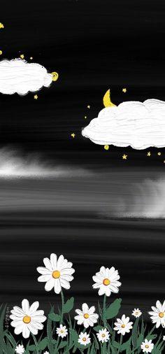 Daisy Wallpaper, One Piece Wallpaper Iphone, Wallpaper Wa, Hippie Wallpaper, Cute Pastel Wallpaper, Flower Phone Wallpaper, Cute Patterns Wallpaper, Iphone Background Wallpaper, Painting Wallpaper