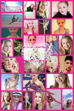 Chloe from dance moms I love her and maddie in fact I love all of them