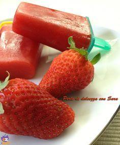 Ricetta ghiaccioli con frutta fresca.