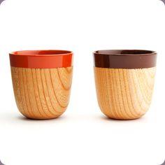 Wooden Espresso Cup by Chanto